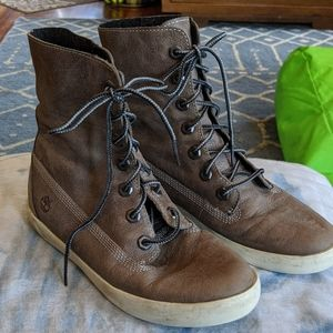 Timberland grey shoes 6.5